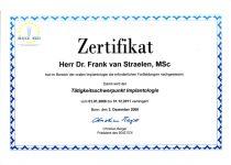 Urkunde Zahnarzt Rheinberg 038