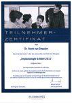 Urkunde Zahnarzt Rheinberg 027